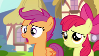 "Scootaloo ""This feels like a trick"" S4E15"