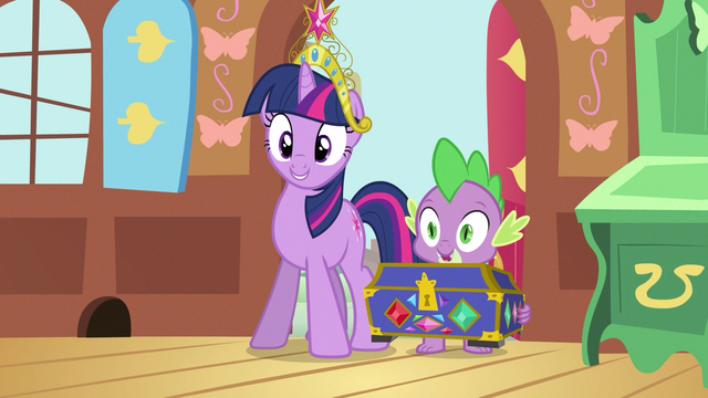 File:Twilight & Spike the cue S3E13.png