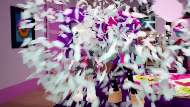 File:Twilight and Rarity in a feather explosion EGM4.png