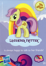 Wave 9 Lavender Fritter collector card