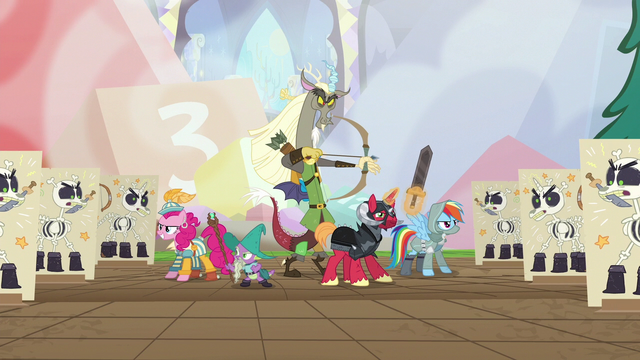 File:Discord and friends surrounded by skeleton puppets S6E17.png