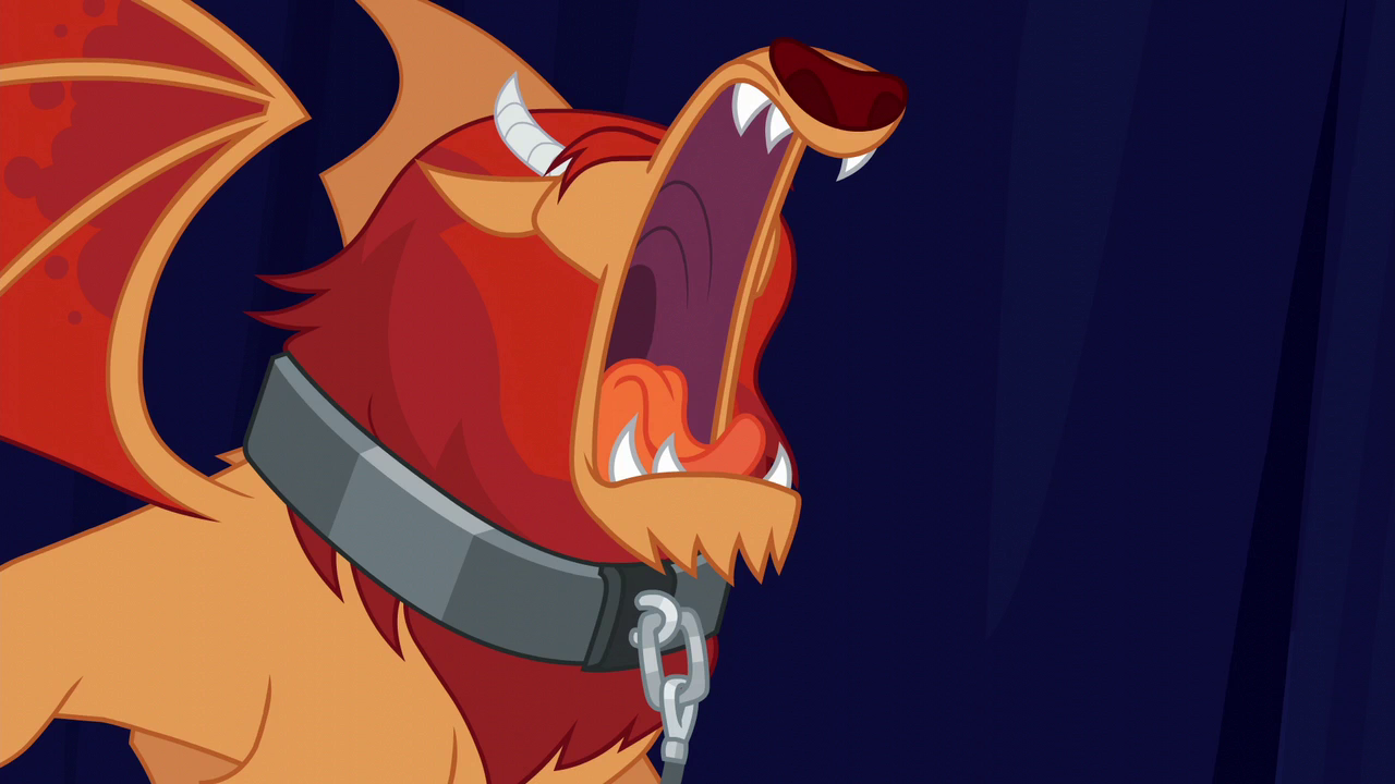 Image - Manticore roaring at the crowd S6E6.png | My ...