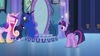 Princess Luna talking to Twilight EG