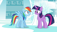 "Rainbow ""I know it all!"" S4E21"