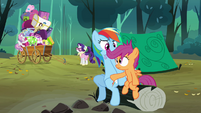 Scootaloo 'No way' S3E6
