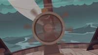 Ship steering wheel spins out of control S6E22