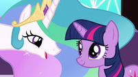 Celestia 'You weren't willing' S3E2