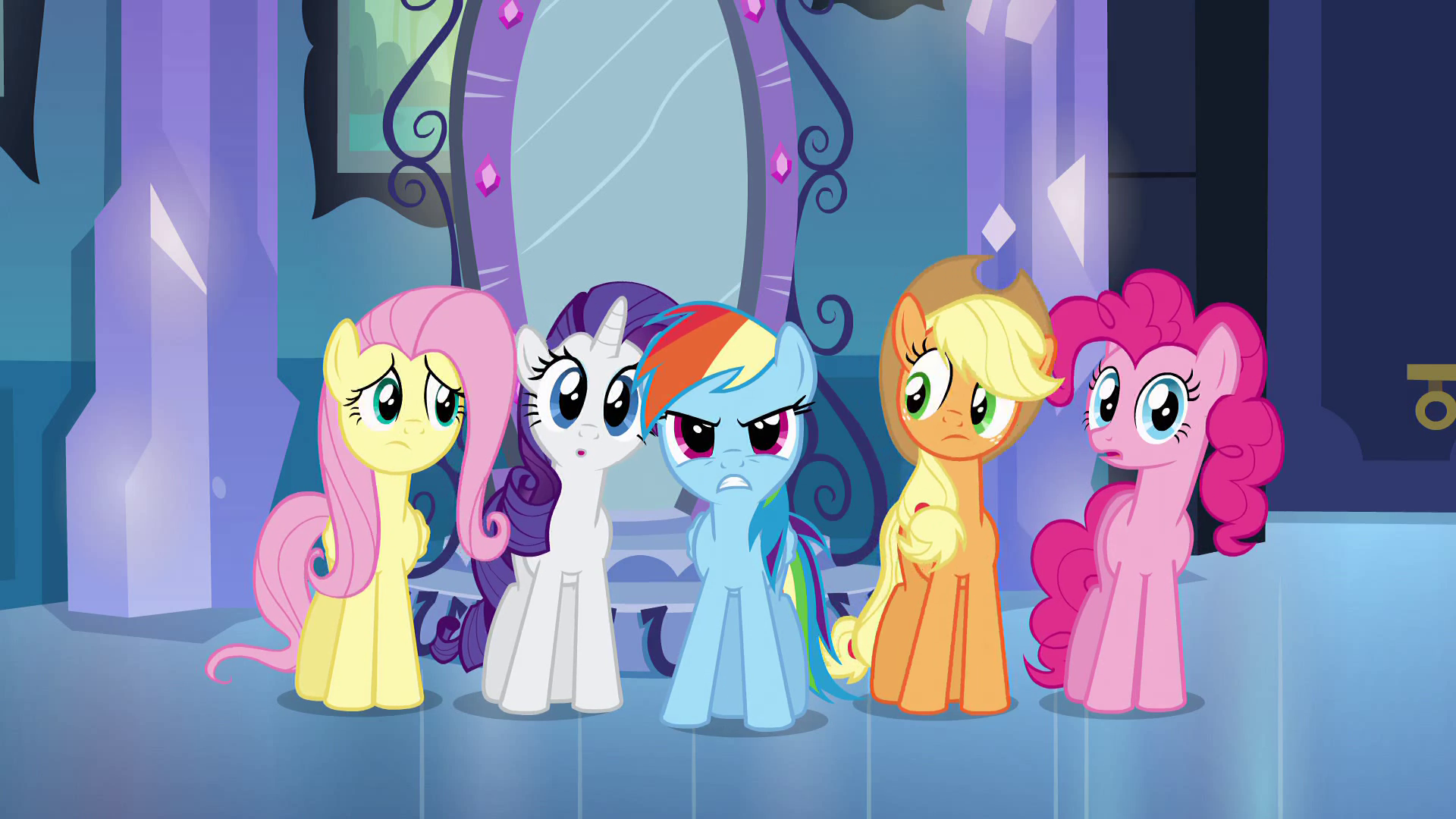 Image - Frustrated Rainbow Dash EG.png | My Little Pony ...