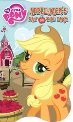 MLP Applejack's Day on the Farm storybook cover