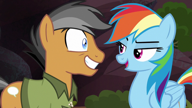 "File:Rainbow Dash ""if you read that in a book"" S6E13.png"
