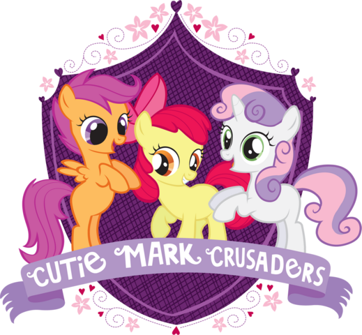 File:Cutie Mark Crusaders crest.png