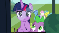 Twilight thinking S5E12