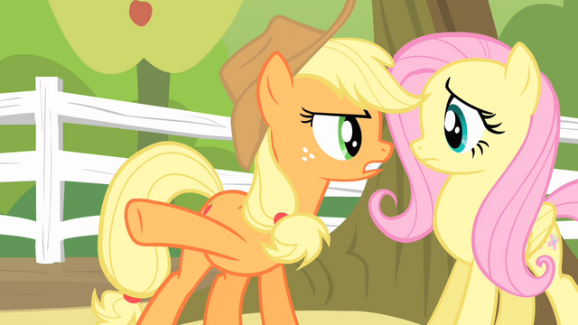 File:Applejack '...is a second they'll spend destroyin' orchards!' S4E07.png