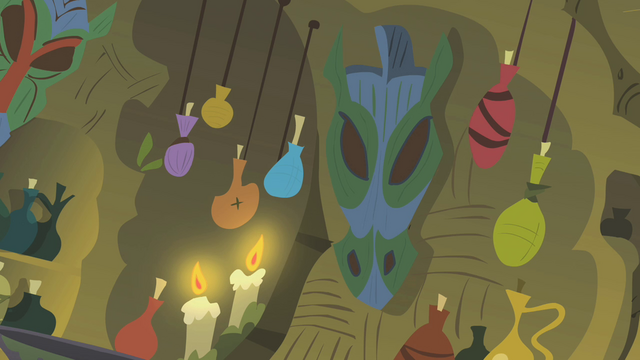 File:Decorations in Zecora's house S1E09.png