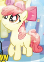 Comic issue 5 Crystal Pony Apple Bloom