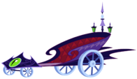 Canterlot Castle Chariot