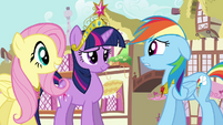 "Rainbow Dash ""what just happened"" S03E13"