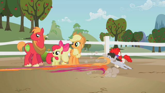 File:Ponies dash to play with Granny Smith S2E12.png