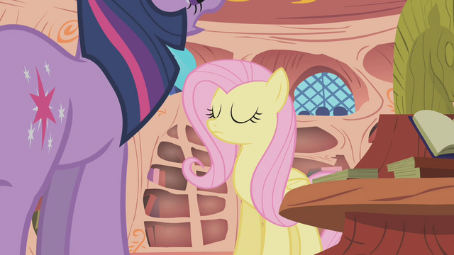 File:Fluttershy Eyes Closed S1E09.png