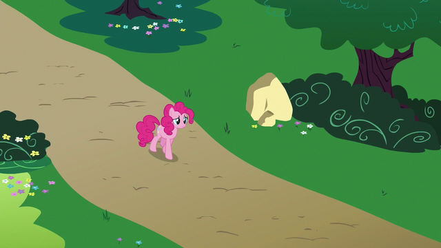 File:Pinkie walks nervously to Rainbow's house S6E15.png