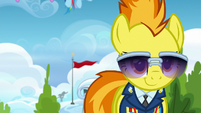 Spitfire smirking at the Academy trainees S6E24