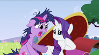 Twilight Sparkle and Rarity S2E03