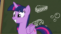 Twilight Sparkle comes up with an idea S6E22
