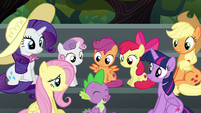 "Spike ""almost as excited as Pinkie Pie!"" S6E7"