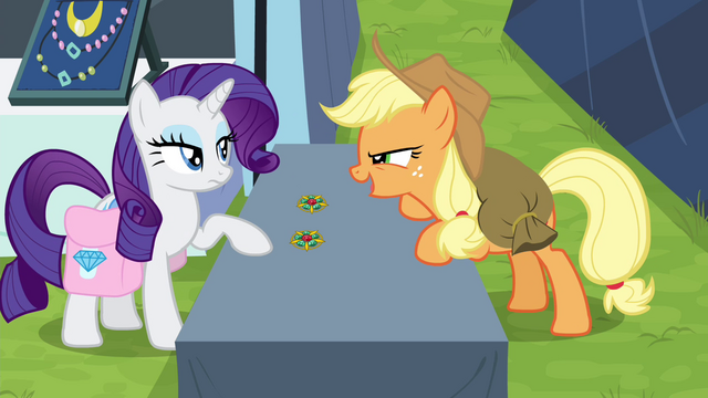 "File:Applejack ""you're bluffing!"" S4E22.png"