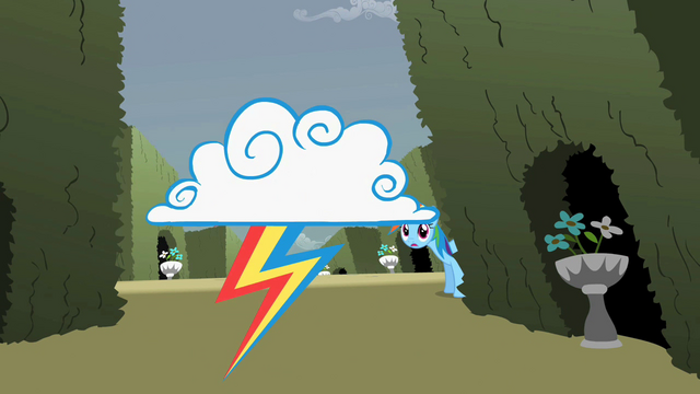File:Rainbow Dash sees a cloud S2E01.png