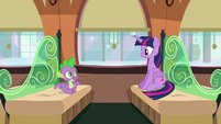 """Spike """"Maybe you're a better teacher than you thought"""" S6E2"""