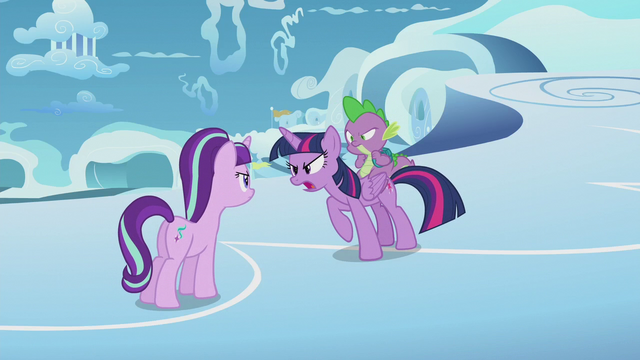 "File:Twilight Sparkle ""this isn't over yet"" S5E25.png"