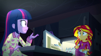Twilight and Sunset look at each other EG2