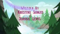 Legend of Everfree credits - Kristine Songco & Joanna Lewis EG4