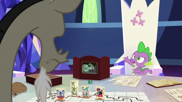 """File:Spike """"you practically begged her to stay!"""" S6E17.png"""