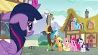Discord tells Twilight the cold, hard truth S5E22