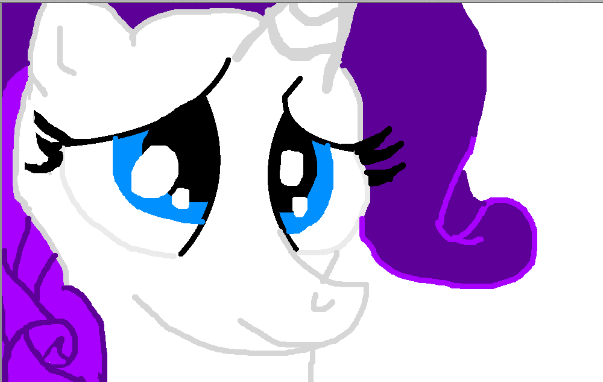 File:FANMADE Stylized Rarity Littlepony123.png