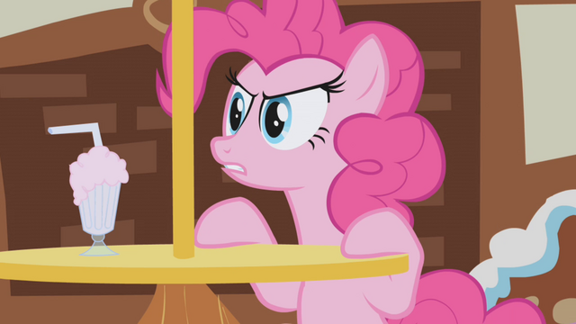 File:Pinkie Pie disapproves of Gilda's thievery S1E05.png