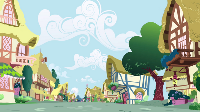 File:Ponyville deserted S01E04.png