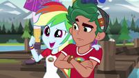 "Rainbow Dash ""we're Canterlot Wondercolts"" EG4"