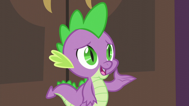"File:Spike ""Princess Twilight doesn't think that seems fair"" S5E10.png"