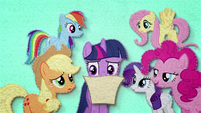 Twilight's friends listen to her read BFHHS1