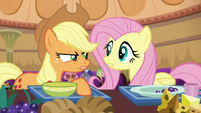 Applejack doesn't count Flim and Flam S6E20