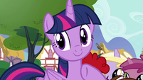 Twilight pointing to the CMC S4E15