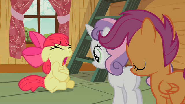 File:Cutie Mark Crusaders Apple Bloom is sick S2E12.png
