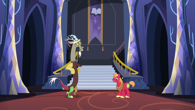 File:Discord and Big McIntosh standing in silence S6E17.png