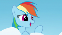 "Rainbow Dash ""if you're too afraid to shine"" S6E24"