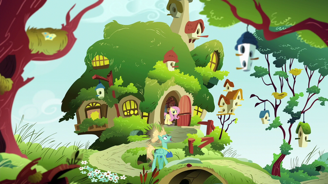 File:Zephyr Breeze leaving Fluttershy's house S6E11.png