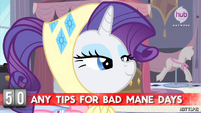"Hot Minute with Rarity ""I don't have any personal experience"""