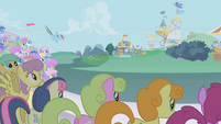 Rainbow Dash begins her Super Speed Strut S1E03